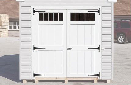 transom windows in doors for backyard shed