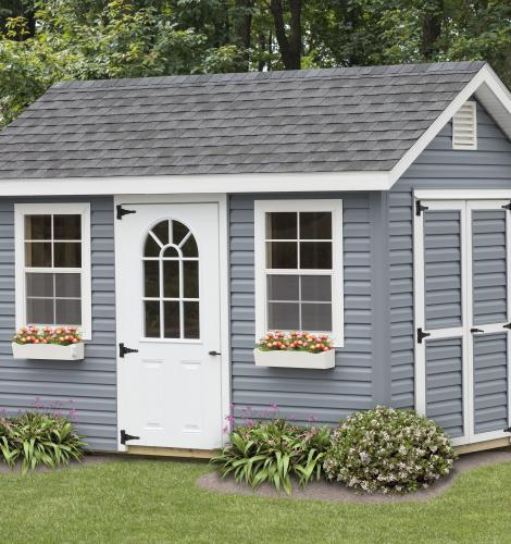 classic cottage shed