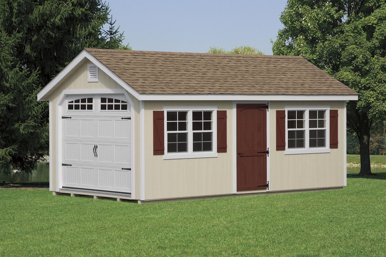Classic Garden Cottage Garage Space Makers Sheds