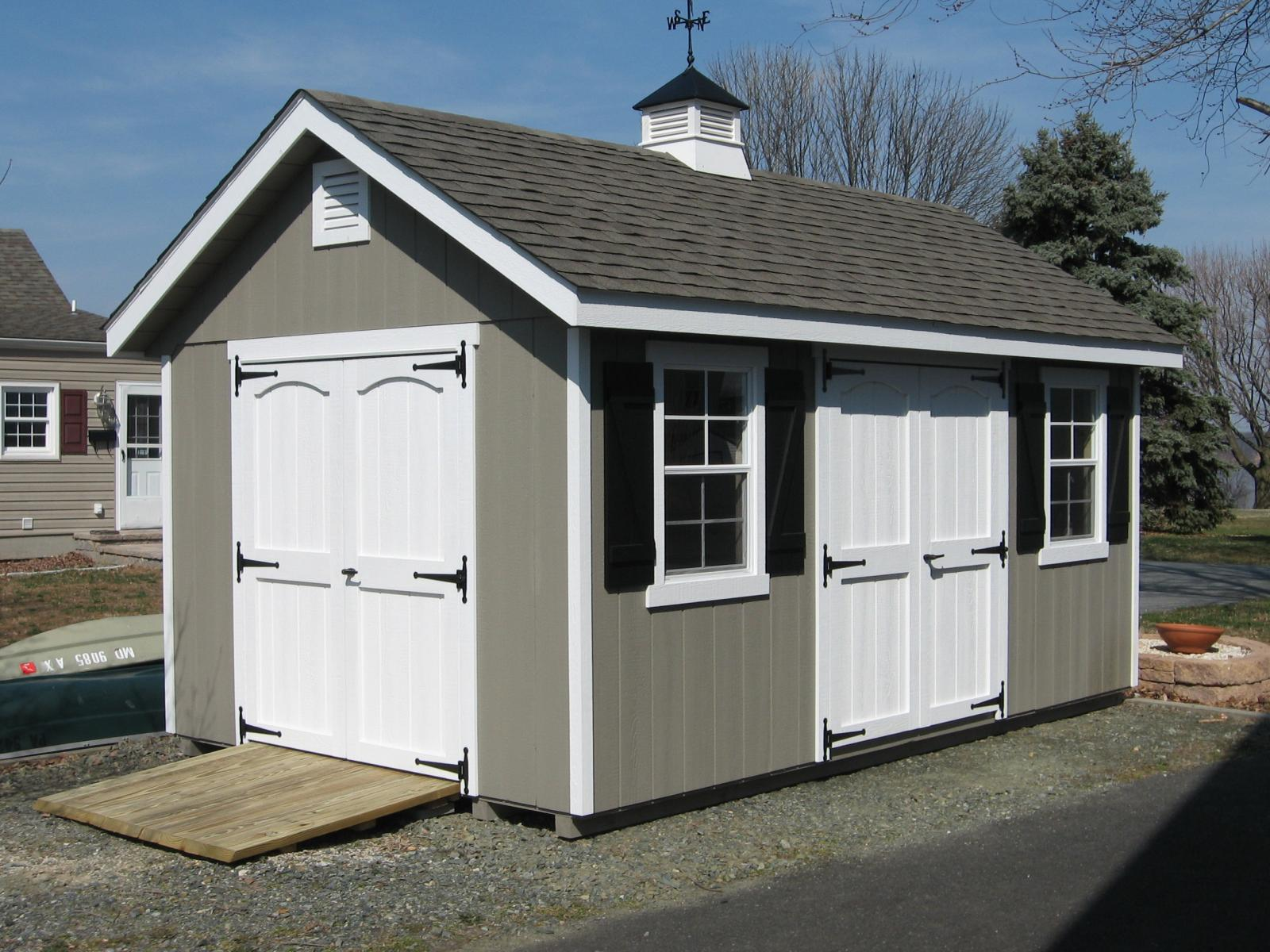 Classic garden cottage space makers sheds for Shed roof cottage
