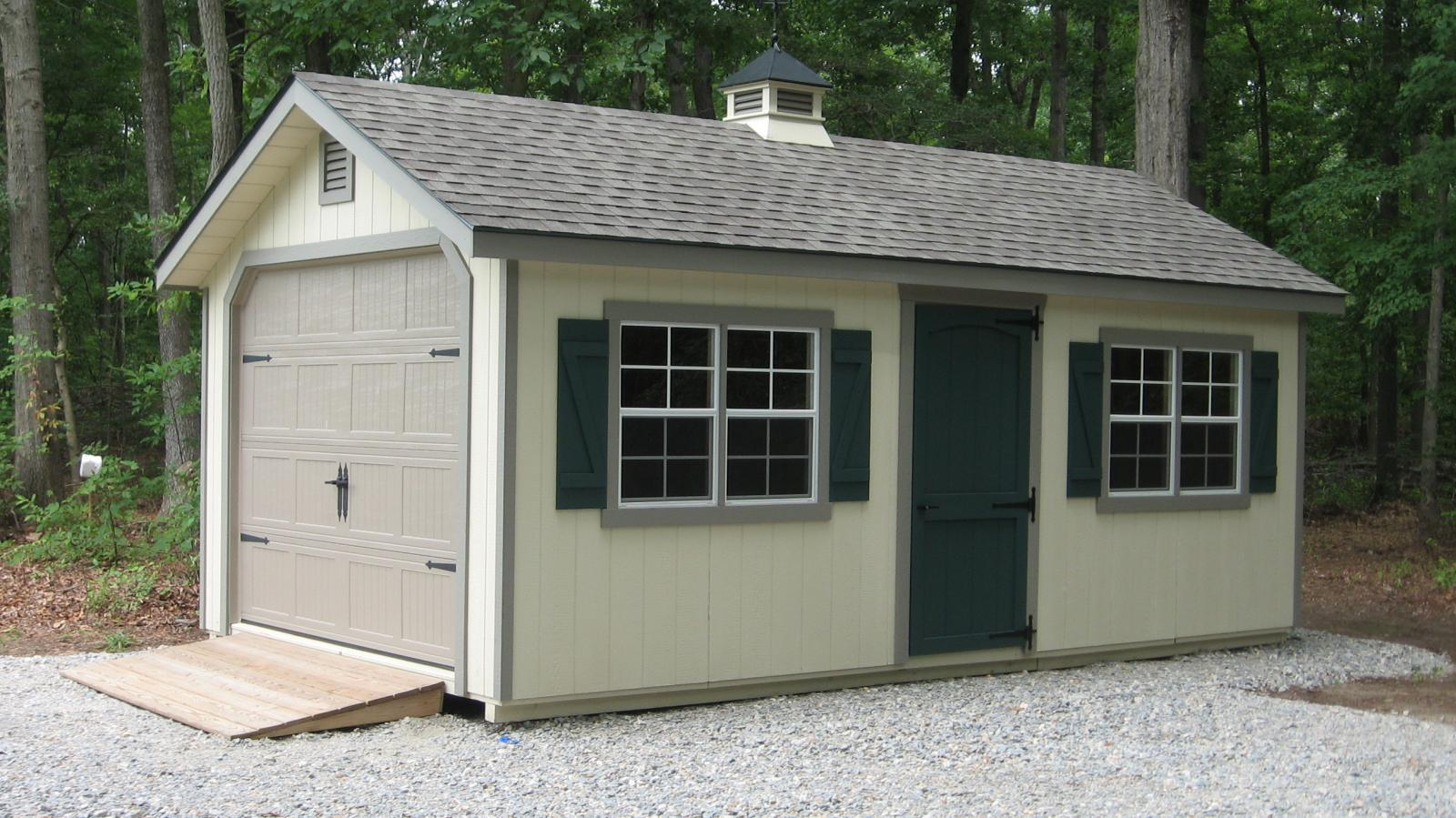 Classic garden cottage garage space makers sheds for Garage cottage