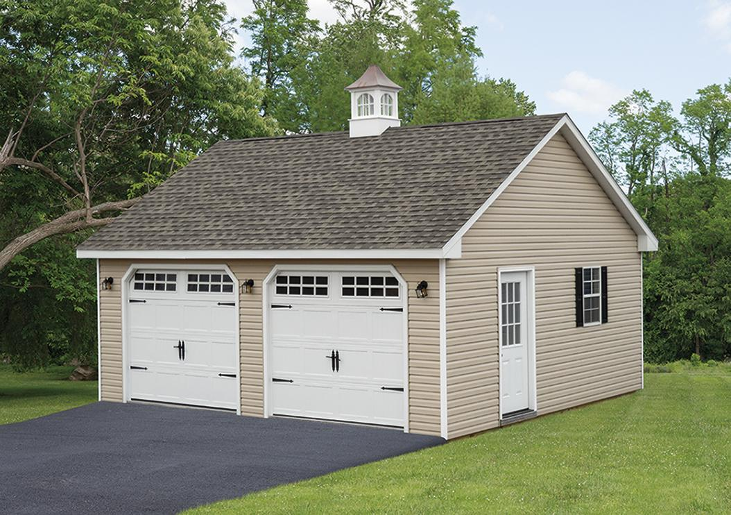 2 Car Garage Space Makers Sheds