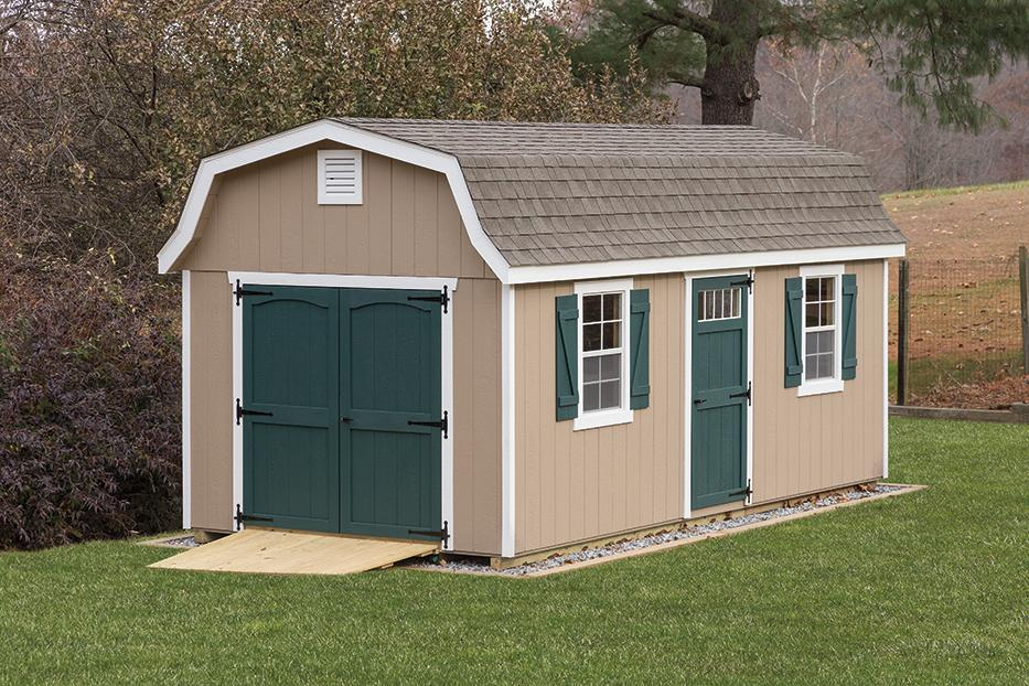 Classic garden dutch barn space makers sheds for Dutch style barn