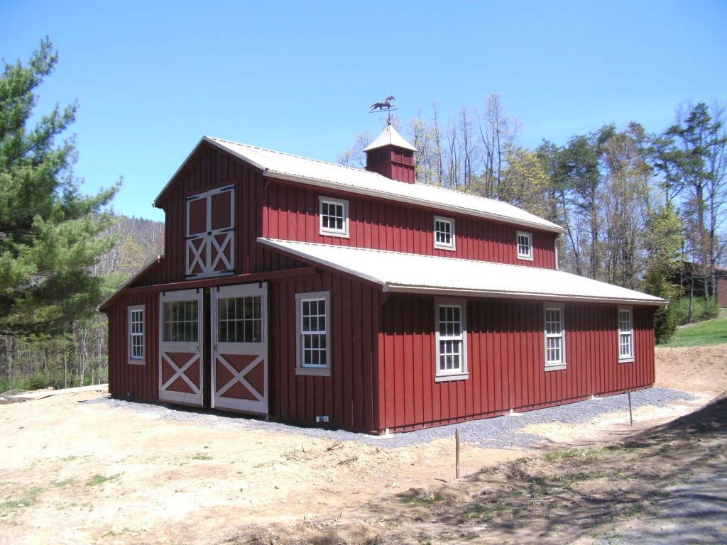 Horse Barns For Sale Space Makers Sheds Bear De