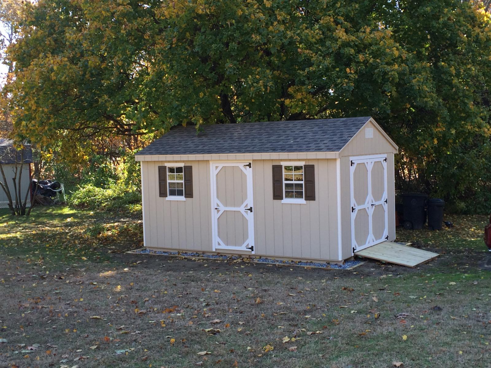 Cottage space makers sheds for Cottage sheds