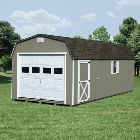 Single Car Garages For Sale Space Makers Sheds