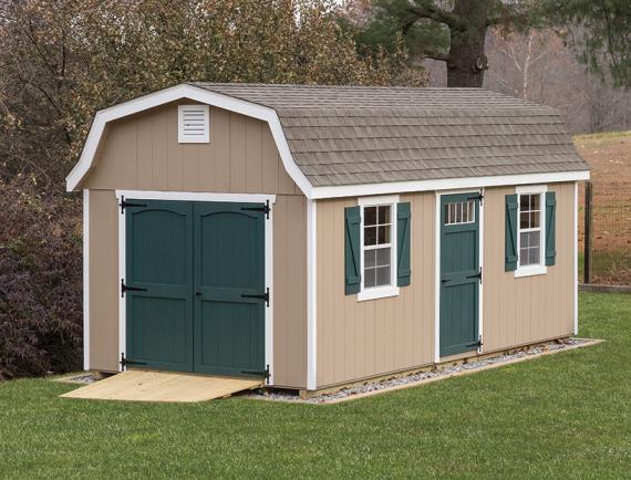 Classic Garden Dutch Barn | Space Makers Sheds