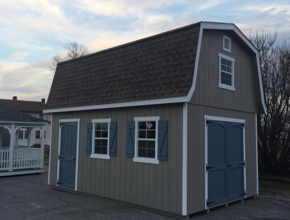 Elite Classic Garden Dutch Barn Space Makers Sheds